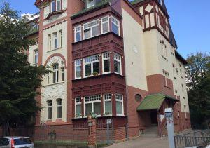 Zahnarztpraxis Trobisch Erfurt Hausansicht