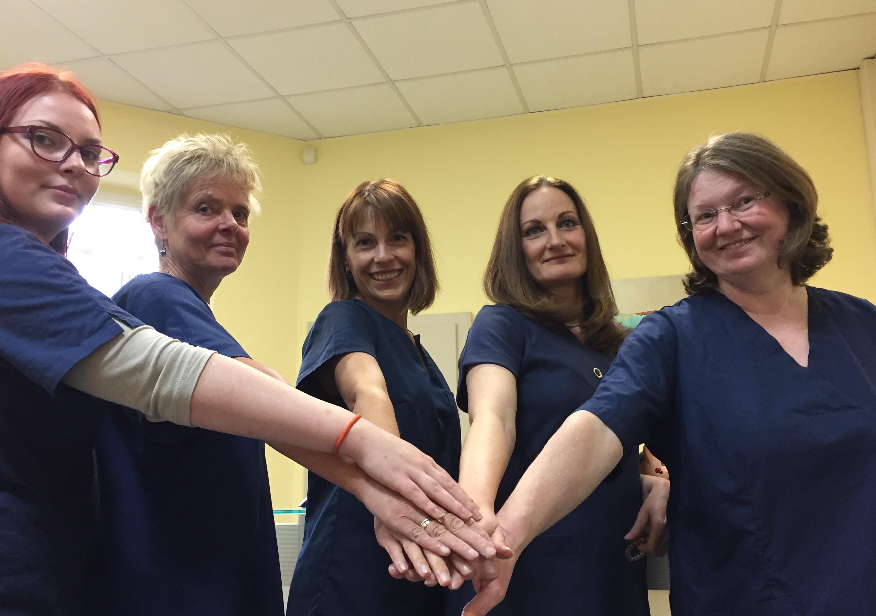 Team der Zahnarztpraxis Dr. Trobisch